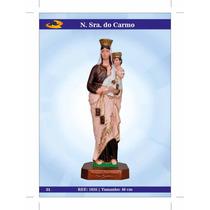 Imagens De Santos Católicos - N. S. D0 Carmo De Borracha