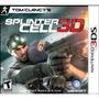 Jogo Tom Clancy`s Splinter Cell 3d Para Nintendo 3ds
