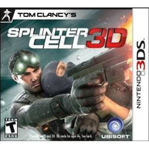 Jogo Tom Clancy`s Splinter Cell 3d Para Nintendo 3ds