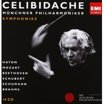 Box 14 Cd Celibidache Symphonies Mozart Beethoven Brahms