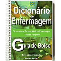 Dicionário De Bolso - Enfermagem Termos Médicos Técnicos