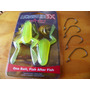 Isca Artificial Soft X-frog Monster 3x Sapos+4 Off Set