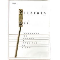 Dvd Gilberto Gil-concerto De Cordas- Novo***