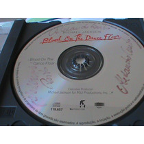 Cd Michael Jackson Single Nac. Blood On The Dance Floor 4:13