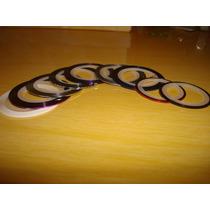 Fitas Metalizadas Em 3d Para Decoração De Unhas
