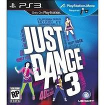 Jogo Para Ps3 Just Dance 3 Lacrado Original Necessario Move