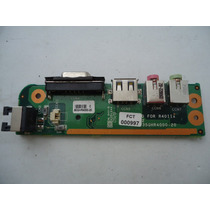 Placa Saida De Audio + Usb Notebook Sti Is 1412