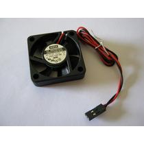 Micro Ventilador 40x40x10mm 12v Rolamento Conector 2 Pinos