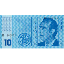 Hutt River Province Australia 10 Cents 1970 Fe * Q J *
