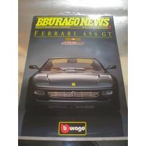 ( L - 170 ) Folder Burago 1:18 Ferrari 456 Gt