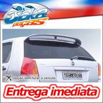 Fiat Palio G3 04/... - Aerofolio 30 Leds Preto Tg Poli 04127