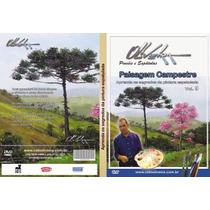 Dvd Pintura Em Tela Paisagem Campestre (vol.9) Cido Oliveira