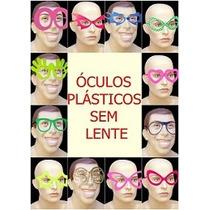 Kit 100 Óculos Coloridos Vários Modelos P/ Festas,casamentos