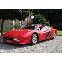 Burago - Ferrari Testarossa - Made In Italy -