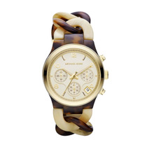 Relógio Michael Kors Madreperola Tortoise Mk4270
