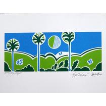 Aldemir Martins Paisagem Artista Catalogado 3 Brazilianart