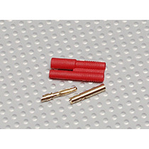 Plug Conector Hxt 2mm Gold Bullet Connector ( O Par)