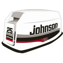 Adesivo Motor Popa Johnson 25 Hp