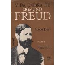 Livro-vida Obra Sigmund Freud-vol1 - Ernest J. -frete Gratis
