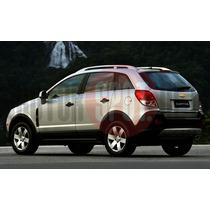 Ponteira Aluminio Chevrolet Captiva 3 Polegadas