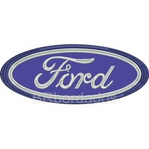 Car064 Ford 29x12 Cm Rally 4x4 Off Patch Bordado P/ Costurar