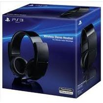 Wireless Headset Sony 7.1 Para Ps3 E Pc Com Nota Fiscal
