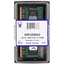 Memoria Sodimm Notebook Ddr3 4gb 1333mhz Pc3-10600 Kingston