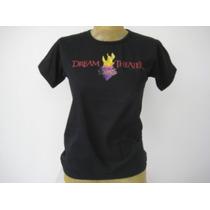 Camiseta Feminina Banda De Rock Baby Lool - Dream Theater