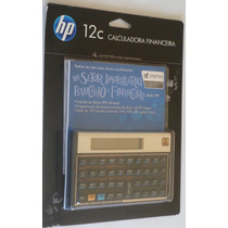 Calculadora Financeira Hp12c Hp 12c Gold Original Lacrada