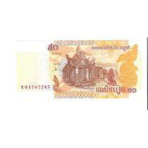 Linda Cédula Camboja - 50 Riels Fe - Vejam A Foto !!!