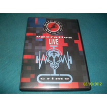 Dvd Queensryche - Operation Livecrime (semi-novo)