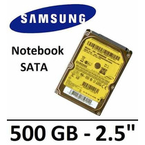 Hd Notebook Seagate Samsung Momentus 500gb 7200 Rpm