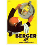 Cartaz Poster Vintage Bebida Absinto Berger 45 Garçon França