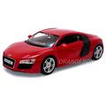 Audi R8 1:24 Maisto #31281-vermelho