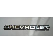 Emblema Chevrolet Cromado Opala/monza/kadett Mmf Auto Parts