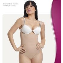 Body Modelador Emborrachado Feminino Esbelt Ref. 611
