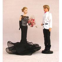 Suporte Para Barbie, Susi E Ken - Cor Preta - 5 Pçs R$ 19,90