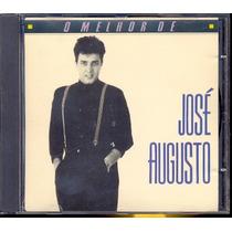 Cd José Augusto - O Melhor De José Augusto - 1989