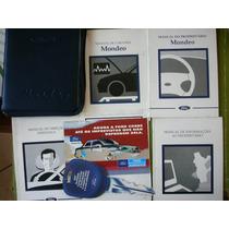 Manual Proprietário Ford Mondeo 96/97 Completo Ótimo