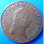 Austria-moeda 1 Kreuser-anos 1800- De Bronze