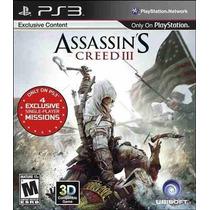 Assassins Creed Iii 3 Ptbr - Venda/troca #frete Grátis