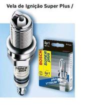 Sp24 Vela Ignição Bosch P/ Citroen C3 1.6 16v Gas