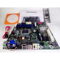 Placa Mãe Lga 1156 Ddr3 P/ Processador I3 I5 I7 * 1ª Geração