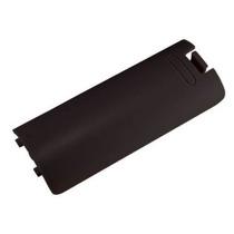Suporte Pilhas Nintendo Wii Remote Tampa De Bateria Preta