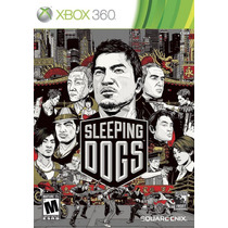 Sleeping Dogs Mídia Física Xbox 360