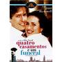 Dvd Quatro Casamentos E Um Funeral, Hugh Grant Frete Grátis