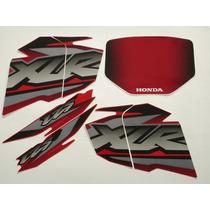 Adesivo Xlr125 2002 Ks Vermelha, Faixa Original Completa