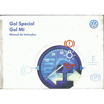 Manual Proprietario Gol Special Ou Mi 2000 2001 Original