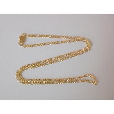 6e144fe4501 Corrente Elos Grumet 3x1 23 Gramas Ouro Amarelo 18k 750
