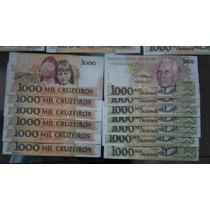 Notas Antigas De 1000 Cruzeiro